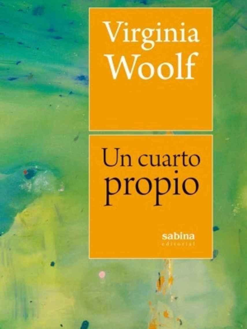 Portada de 'Un cuarto propio', de Virginia Woolf.