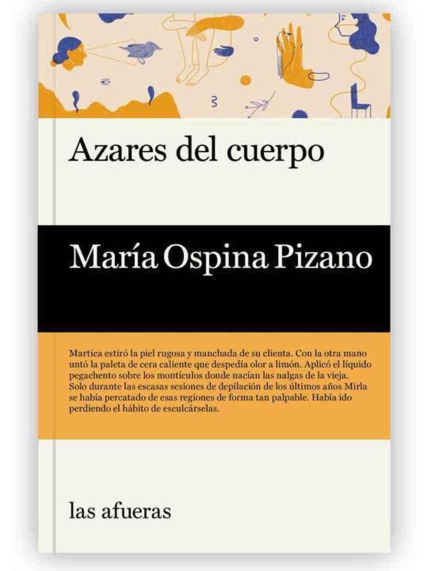 Portada de 'Los azares del cuerpo', de Maria Ospina Pizano.