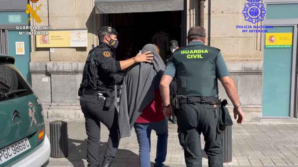 Detenciones en la operación SANVITON