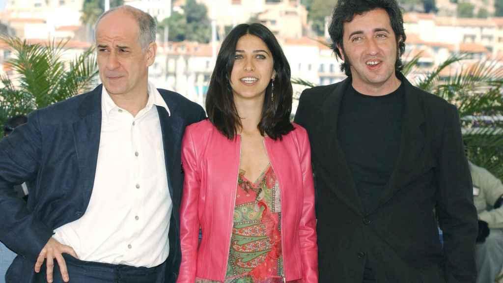 La relación entre Sorrentino y Toni Servillo se remonta décadas. Aquí, en Cannes en 2004.