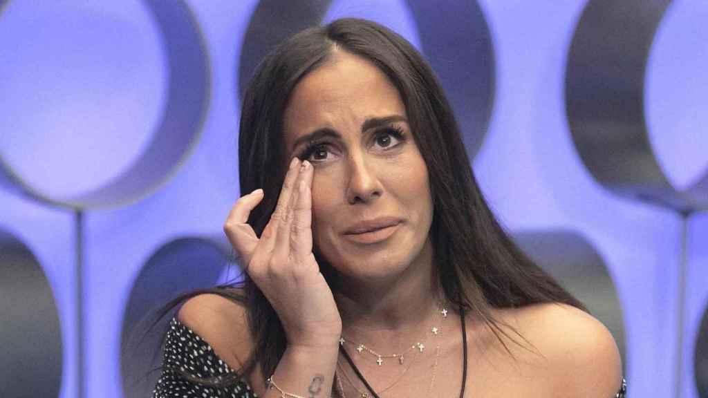Anabel Pantoja en el plató de 'Supervivientes'.