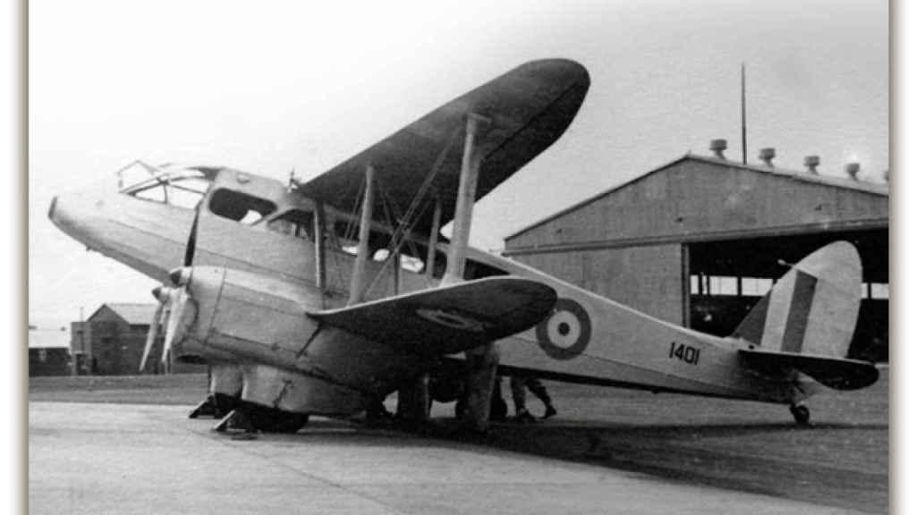 El aeródromo de El Fondó en Monóvar, de donde salió el avión del último Gobierno republicano.