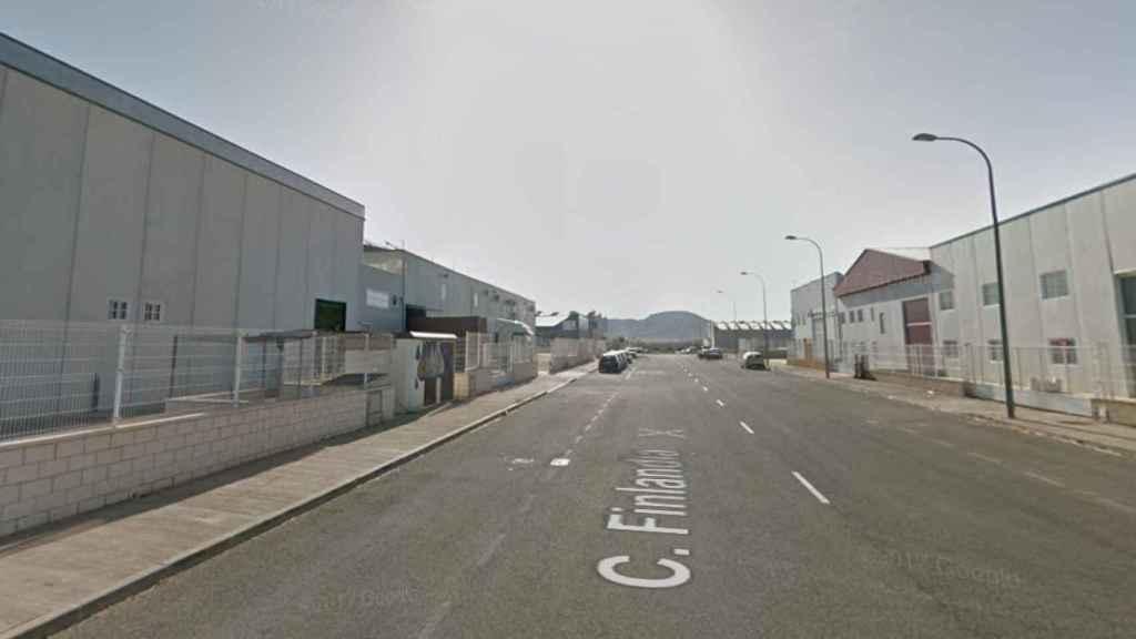 Calle Finlandia de Hellín, lugar donde se ha producido el siniestro. Foto: Google