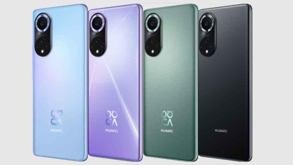 Huawei Nova 9 en varios colores