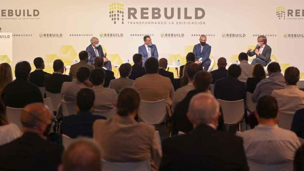 Rebuild 2021 ha abordado los retos de futuro del sector de la edificación en diferentes mesas redondas.