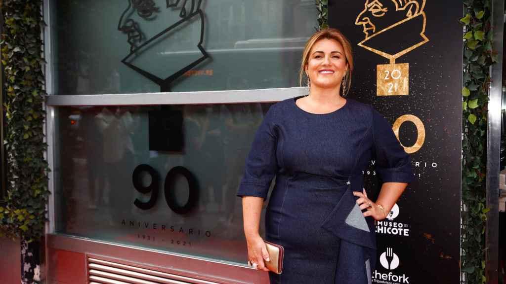 Carlota Corredera, Premio Chicote a Mejor Comunicadora Femenina 2021.