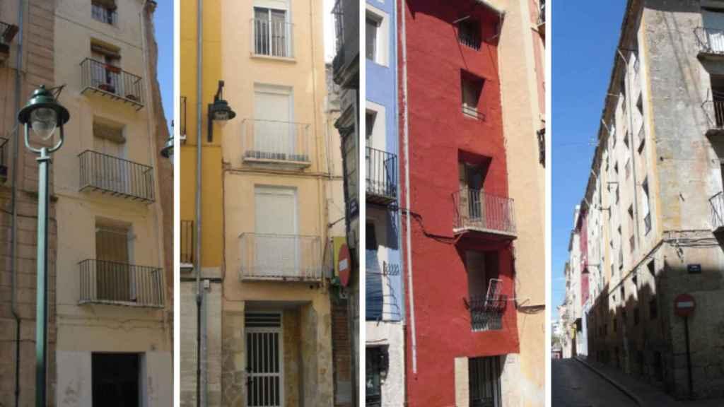Típica vivienda social de dos claus en Alcoy.