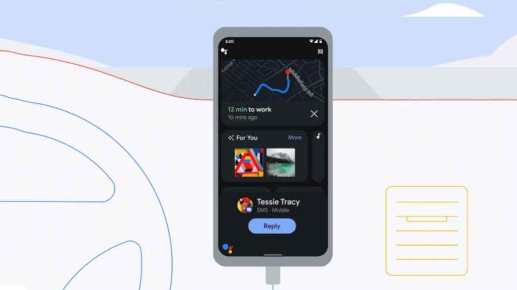 Modo conducción de Google Assistant