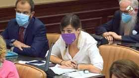Ana Prieto, en la Comisión de Sanidad.