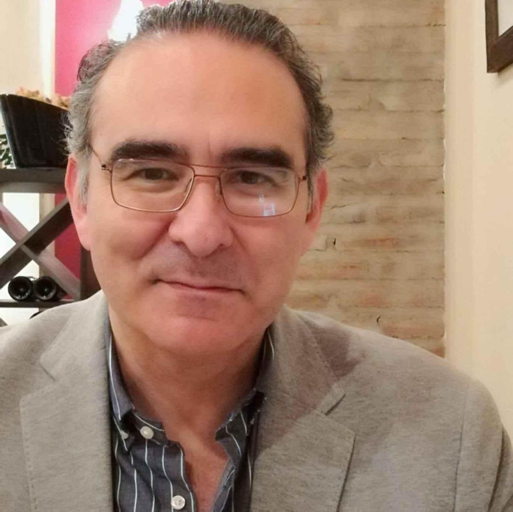 Una foto de Jorge Chauca García, Doctor en Historia Moderna.