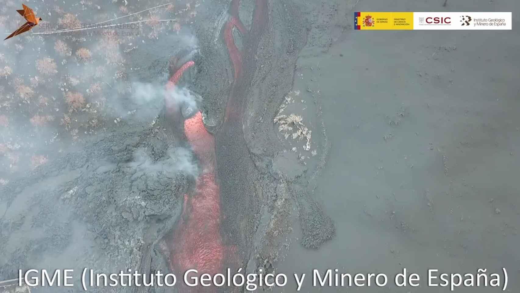 Erupción Cumbre Vieja La Palma (21/9/21)
