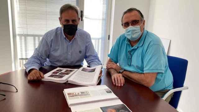 Manuel Jiménez y Alfredo Llopis presentarán la documentación a la Generalitat.