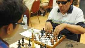 El buen ajedrez también es cosa de ciegos: Benidorm reúne a los mejores jugadores de España