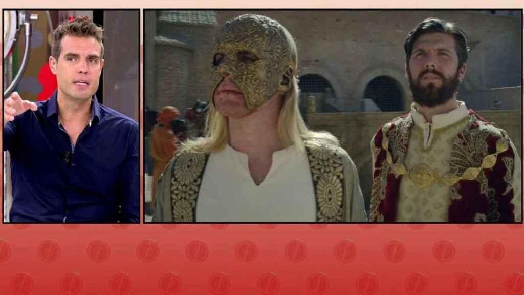 David Alemán se ha convertido en el rostro de los sucesos en 'Sálvame'.