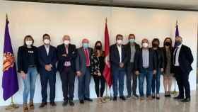 Reunión del PSOE con la Agrupación Regional de Municipios Mineros