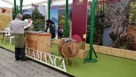 Stand de Salamanca en la Feria Naturcyl