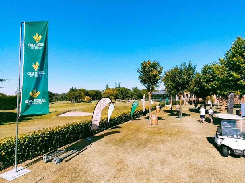 Instalaciones de Golf Entrepinos, en Simancas