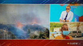 El juez zamorano Raúl relata como se ha quedado sin nada tras la erupción del volcán en La Palma