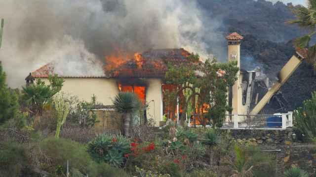 Erupción de La Palma.