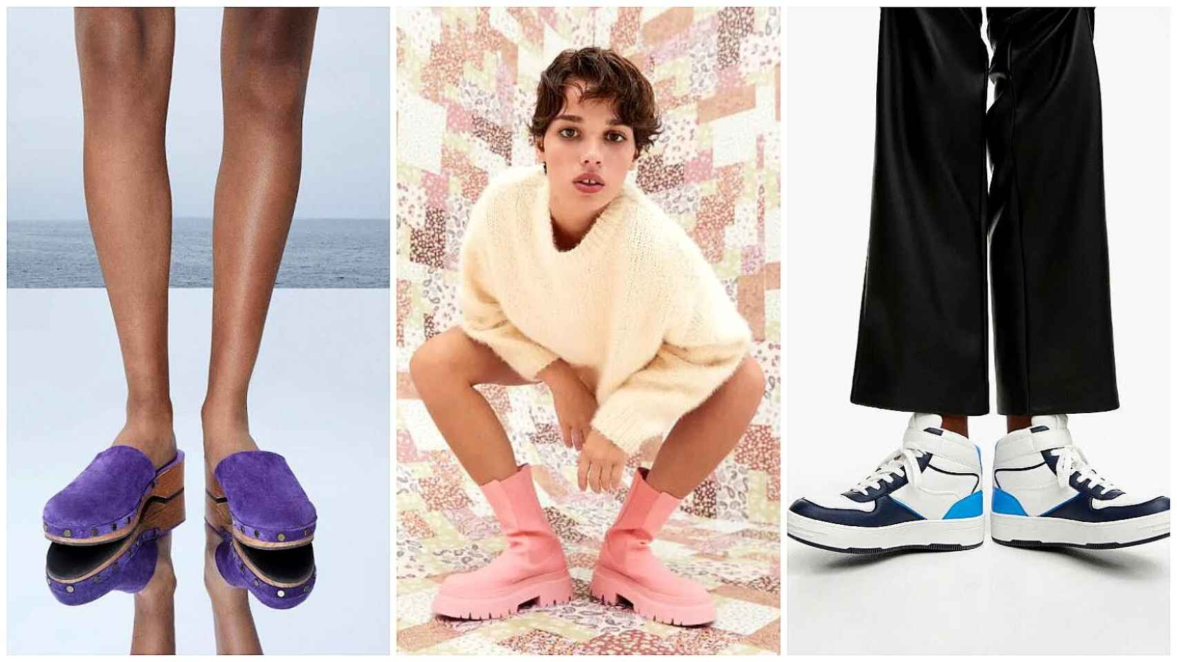 Seis modelos de calzado de Pull&Bear con los que aumentar tu zapatero