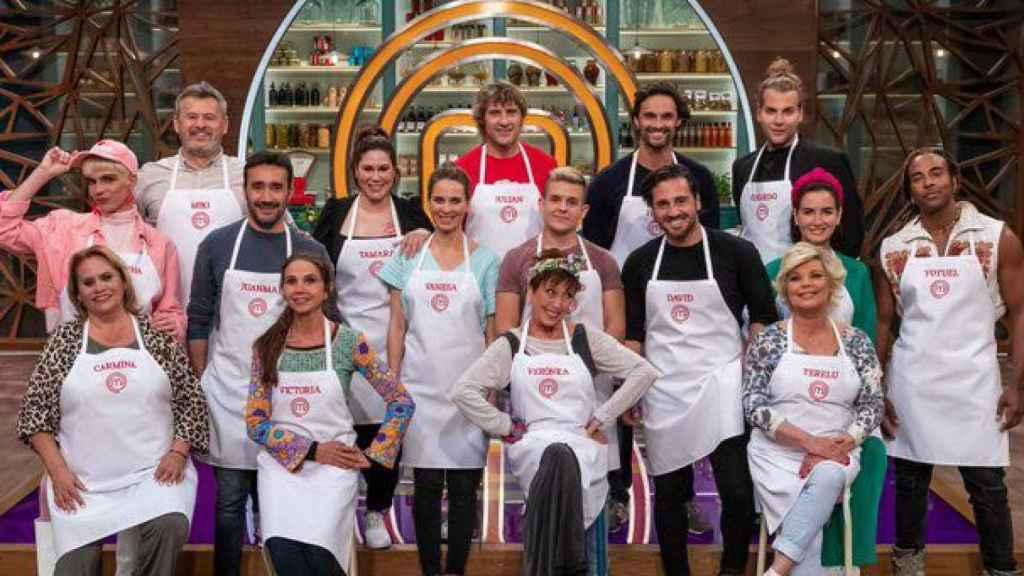Los concursantes de 'MasterChef Celebrity'.