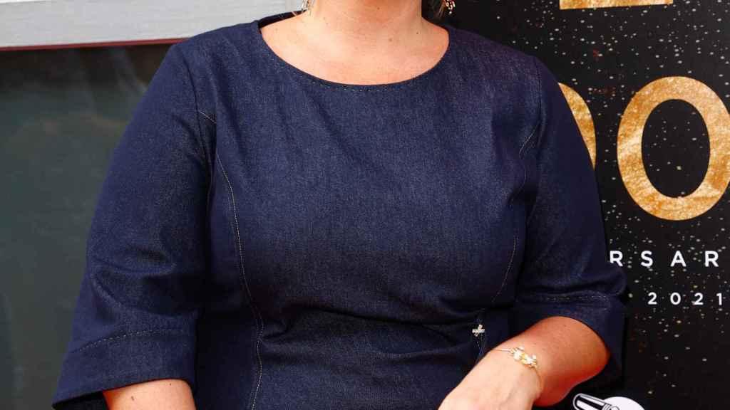 La presentadora y escritora Carlota Corredera.