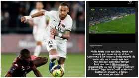 Neymar y su mensaje en redes