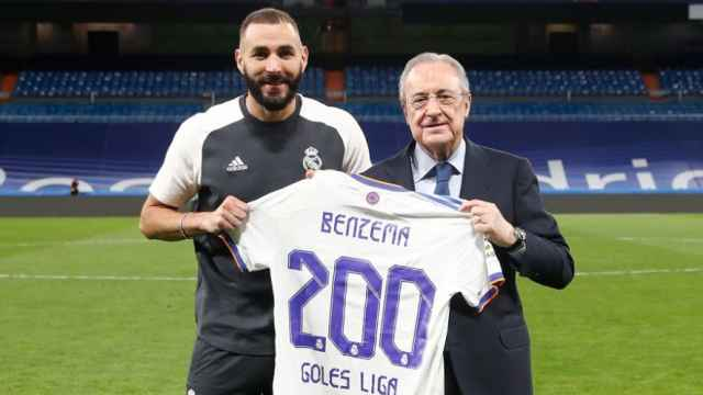 Benzema llega a los 200 goles en La Liga