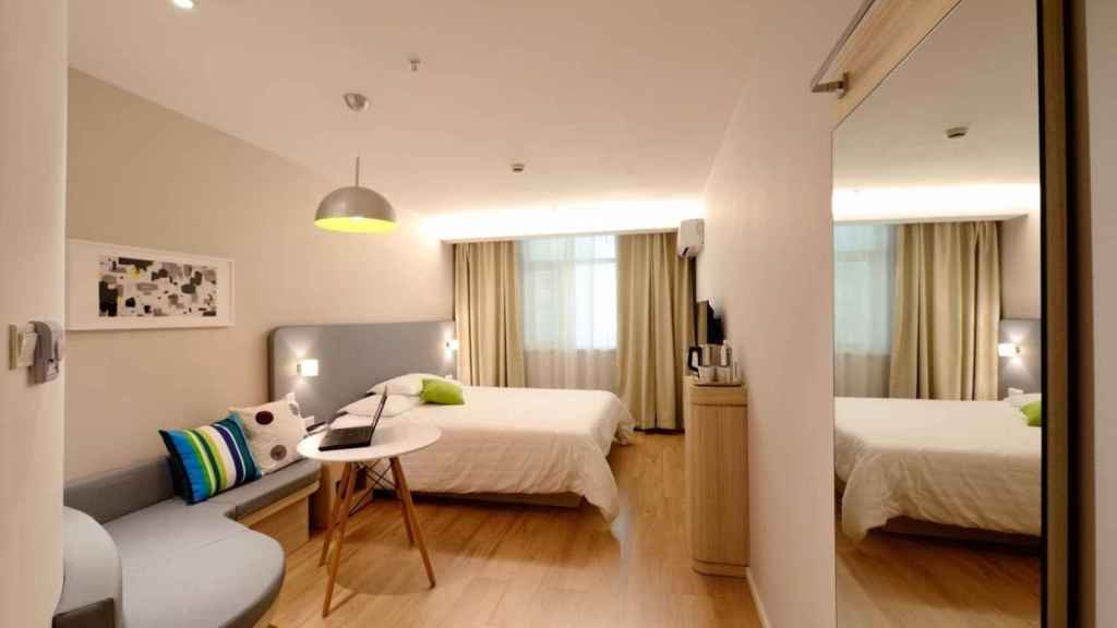 Hotel en Castilla-La Mancha. Imagen de archivo