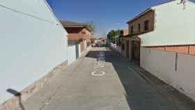 Calle Vicente Aleixandre de Novés. Foto: Google.