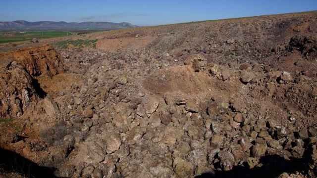 Volcán Columba. Foto: info.igme.es