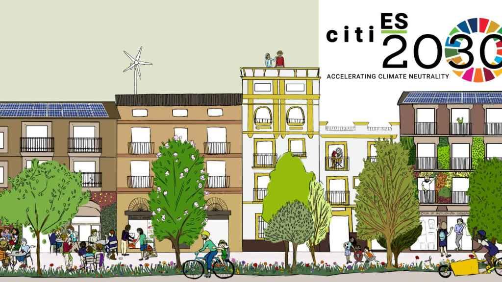 Cartel de la iniciativa CitiES 2030, plataforma impulsada desde El Día Después