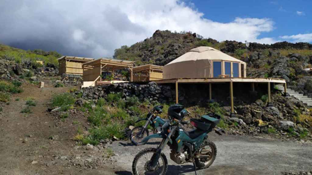 Construcciones ilegales en el municipio de Los Llanos, en la isla canaria de La Palma.