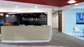 Oficina de Mirabaud.