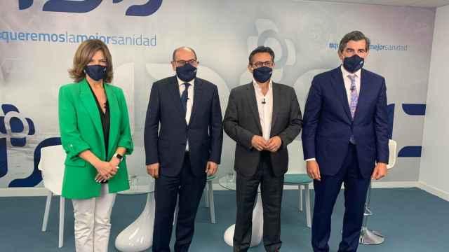 Marta Villanueva, Jon Darpón, Julio Mayol y Juan Abarca.