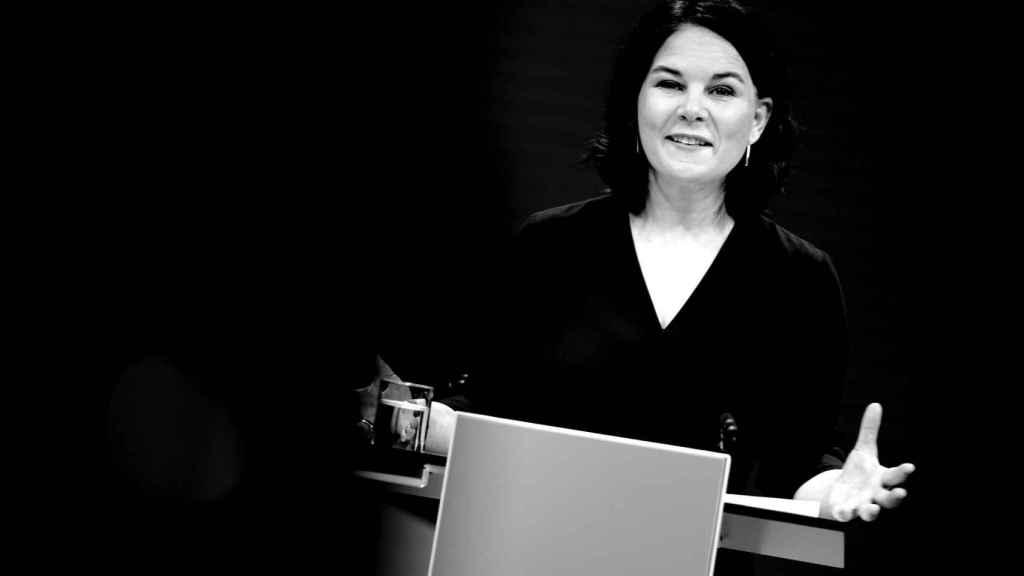 La líder de los verdes en Alemania,  Annalena Baerbock.