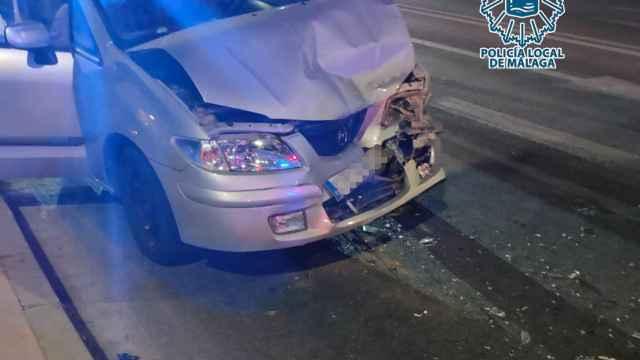 Investigado un hombre por provocar un accidente con heridos quintuplicando la tasa máxima de alcohol.