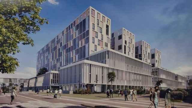 Diseño del tercer hospital de Málaga.