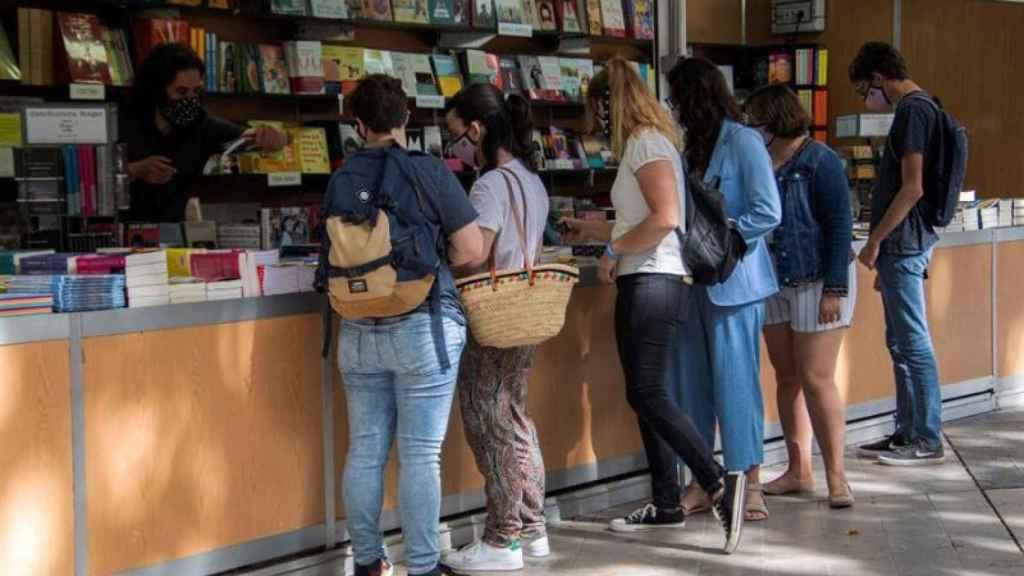 La Feria del Libro de Madrid 2021.