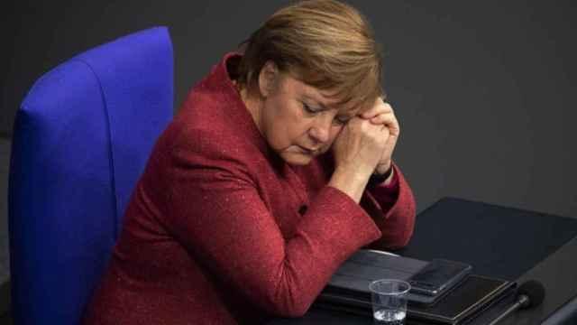 Angela Merkel en el Parlamento alemán en una imagen de archivo.