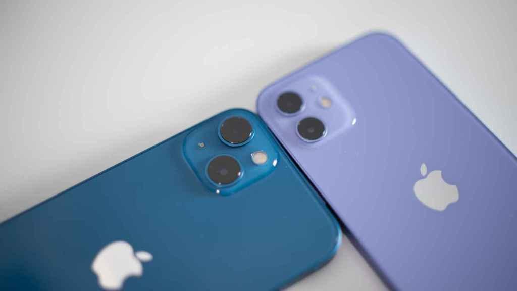 iPhone 13 y iPhone 12
