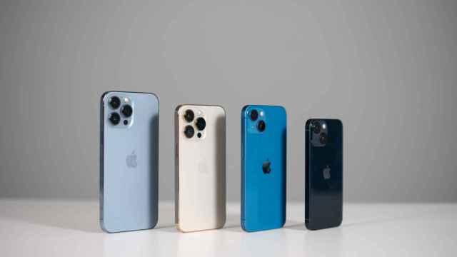 Los iPhone 13