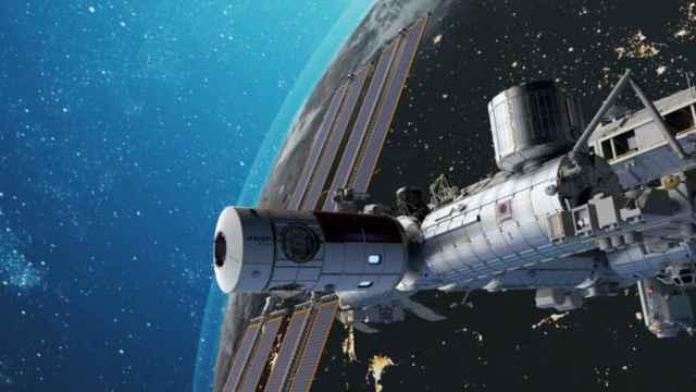 Recreación de la estación espacial Axiom