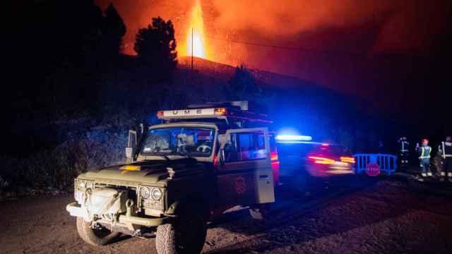 Los bomberos han querido salvar Todoque a toda costa.