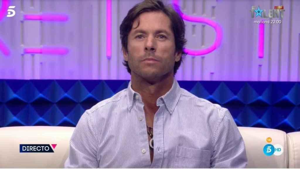 José Antonio Canales Rivera en el 'Cubo' de 'Secret Story'.