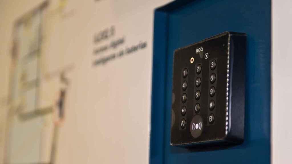 Cerradura inteligente de ILOQ