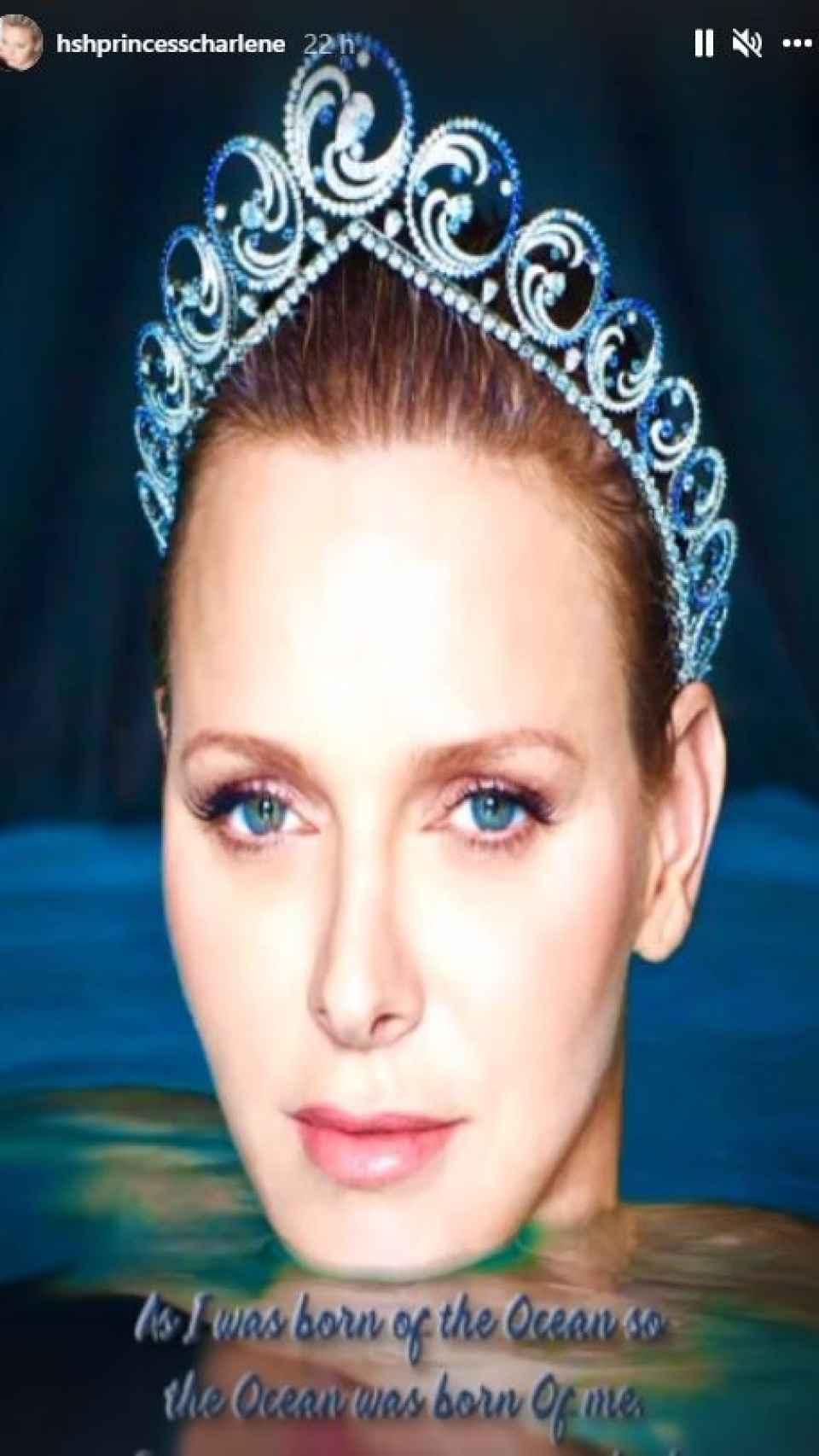 La princesa Charlène ha mandado un emotivo mensaje en honor a la gala de Salud Planetaria.