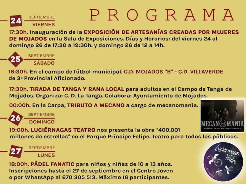 1. Valladolid Mojados Fiestas Nuestra Señora del Rosario 2021