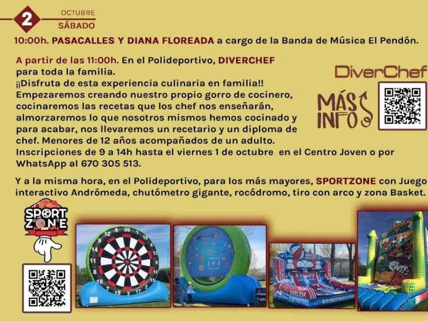 4. Valladolid Mojados Fiestas Nuestra Señora del Rosario 2021