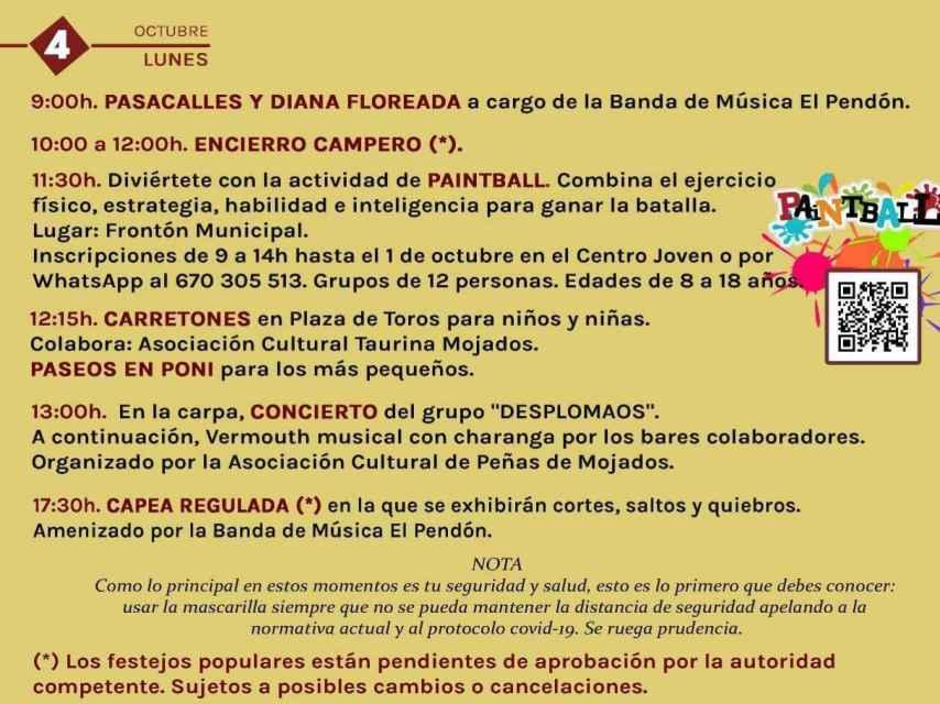 7. Valladolid Mojados Fiestas Nuestra Señora del Rosario 2021
